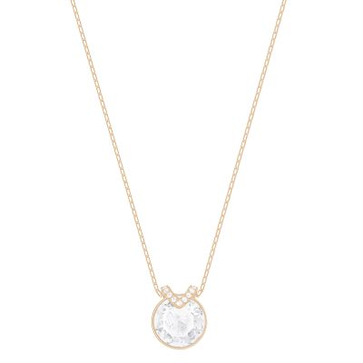 Ladies Swarovski Gold Plated Bella Necklace 5299316