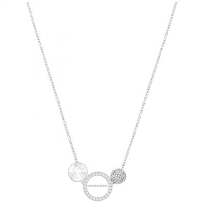 Ladies Swarovski Silver Plated Hote Necklace 5300330