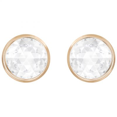 Ladies Swarovski Rose Gold Plated Hote Earrings 5301474