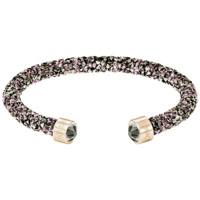 Ladies Swarovski Rose Gold Plated Crystaldust Bracelet 5348098