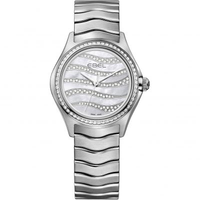 Ladies Ebel WAVE Diamond Watch 1216270