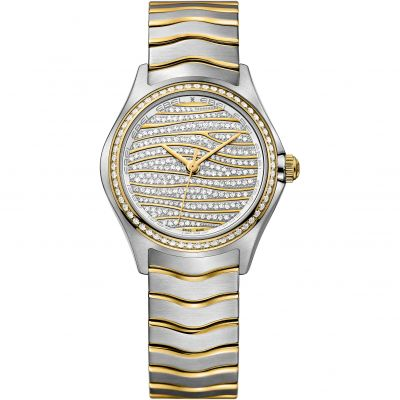 Ladies Ebel WAVE Diamond Watch 1216285