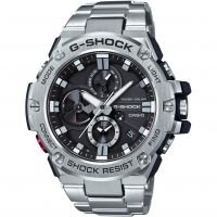 Mens Casio G-Steel Bluetooth Triple Connect Chronograph Radio Controlled Watch GST-B100D-1AER