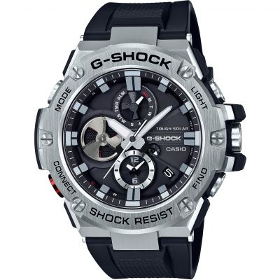 Montre Chronographe Homme Casio G-Steel Bluetooth Triple Connect GST-B100-1AER