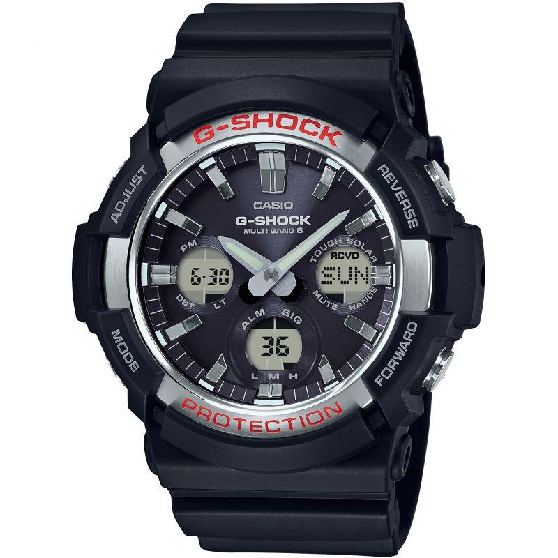 Mens Casio G-Shock Waveceptor Alarm Chronograph Radio Controlled Watch