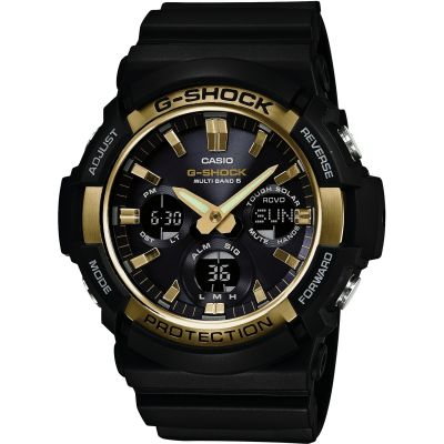 Mens Casio G-Shock Waveceptor Alarm Chronograph Radio Controlled Watch GAW-100G-1AER