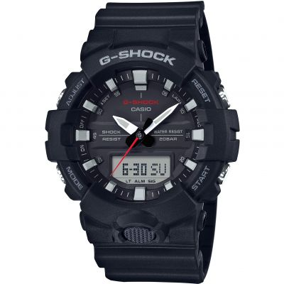 Casio G-Shock Herrenchronograph in Schwarz GA-800-1AER