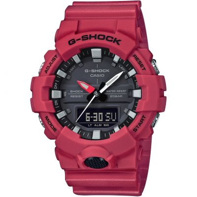 Mens Casio G-Shock Alarm Chronograph Watch GA-800-4AER