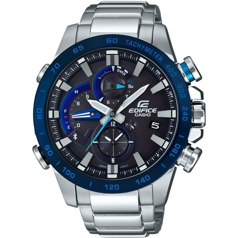 Mens Casio Edifice Bluetooth Triple Connect Alarm Chronograph Watch