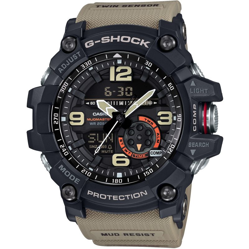 Mens Casio G-Shock Mudmaster Exclusive Alarm Chronograph Watch