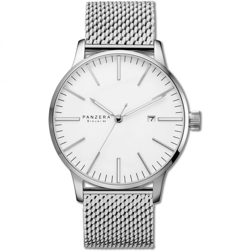 Mens Panzera BREUER 44 ARCTIC MESH Automatic Watch