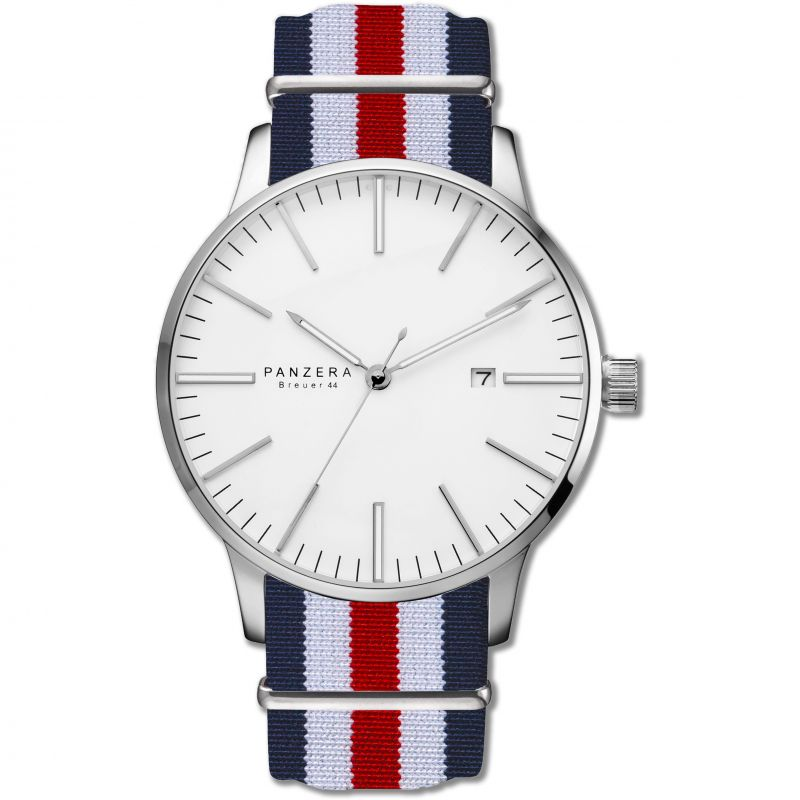 Mens Panzera BREUER 44 ARCTIC FLAIR Automatic Watch