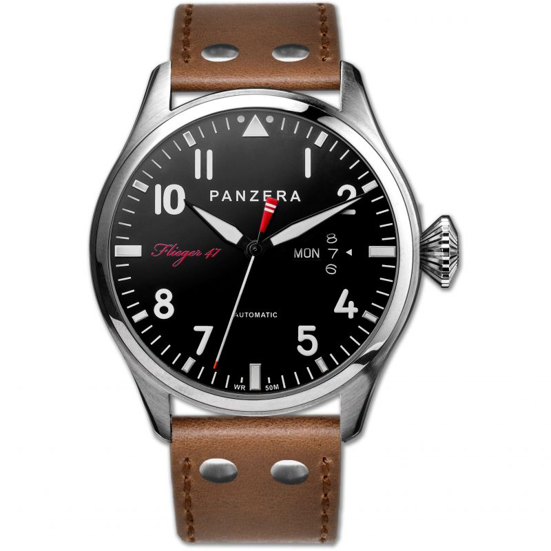 Mens Panzera FLIEGER 47M ARADO ASPIRE Automatic Watch
