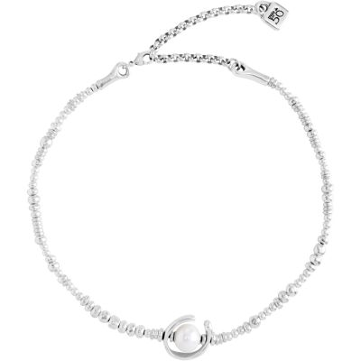 Ladies UNOde50 Silver Plated Another Round Oh Oh Oh! Necklace COL0970BPLMTL0U