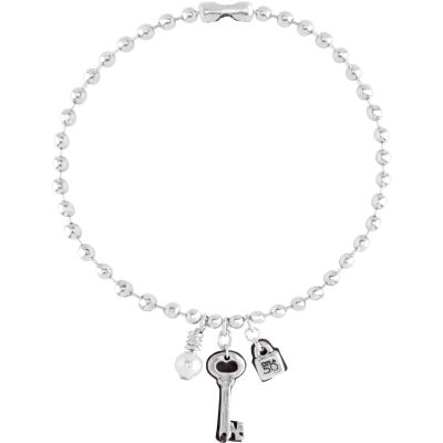 Ladies UNOde50 Silver Plated Cambiaron La Cerradura Necklace COL1120BPLMTL0U