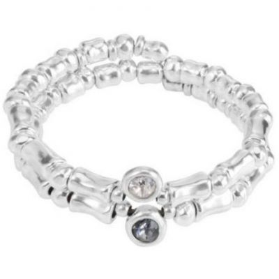 Ladies UNOde50 Silver Plated Acristalada Bracelet PUL1398GRSMTL0M