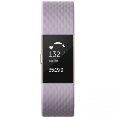 Unisex Fitbit Charge 2 Special Edition Bluetooth Fitness Activity Tracker Watch FB407RGLVL-EU