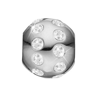 Ladies Christina Sterling Silver Goals in Life Bead Charm 623-S24