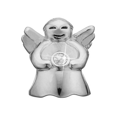 Christina Dames Topaz Angel Bead Charm Sterling Zilver 623-S34