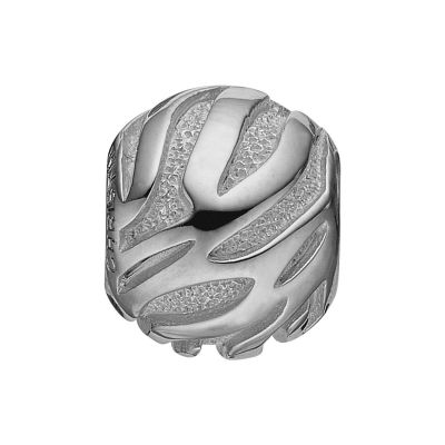 Ladies Christina Sterling Silver Wild Dust Bead Charm 623-S49