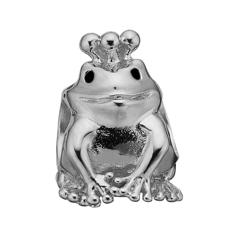 Ladies Christina Sterling Silver Topaz Frog Bead Charm 623-S65
