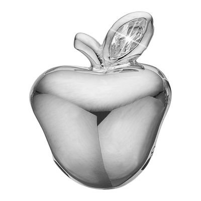 Ladies Christina Sterling Silver Apple Bead Charm 623-S82