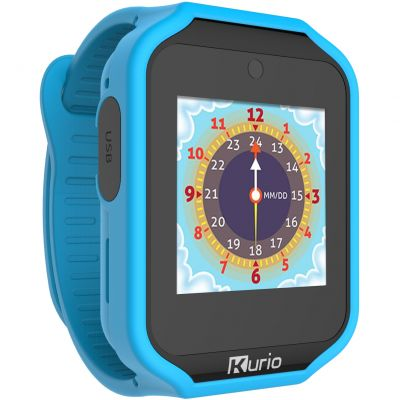 Childrens Kurio Bluetooth Smart 2.0 Blue/Red Alarm Chronograph Watch C17515