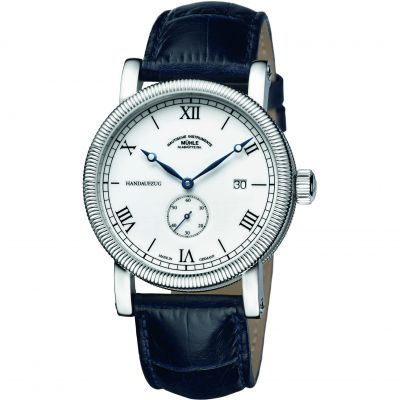 Mens Muhle Glashutte Teutonia III Handaufzug Kleine Sekunde Mechanical Watch M1-08-11-LB