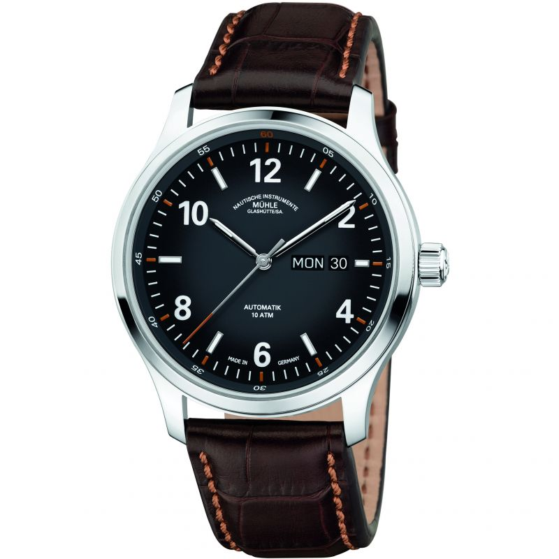 Mens Muhle Glashutte Lunova Tag/Datum Automatic Watch