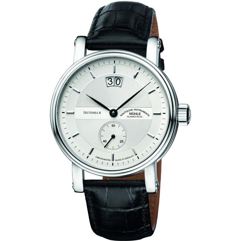 Mens Muhle Glashutte Teutonia II Grossdatum Chronometer Watch