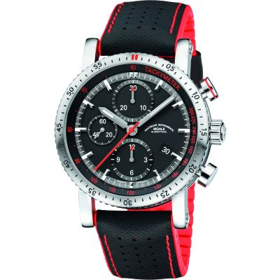 Mens Muhle Glashutte Teutonia Sport I Automatic Chronograph Watch M1-29-63-NB