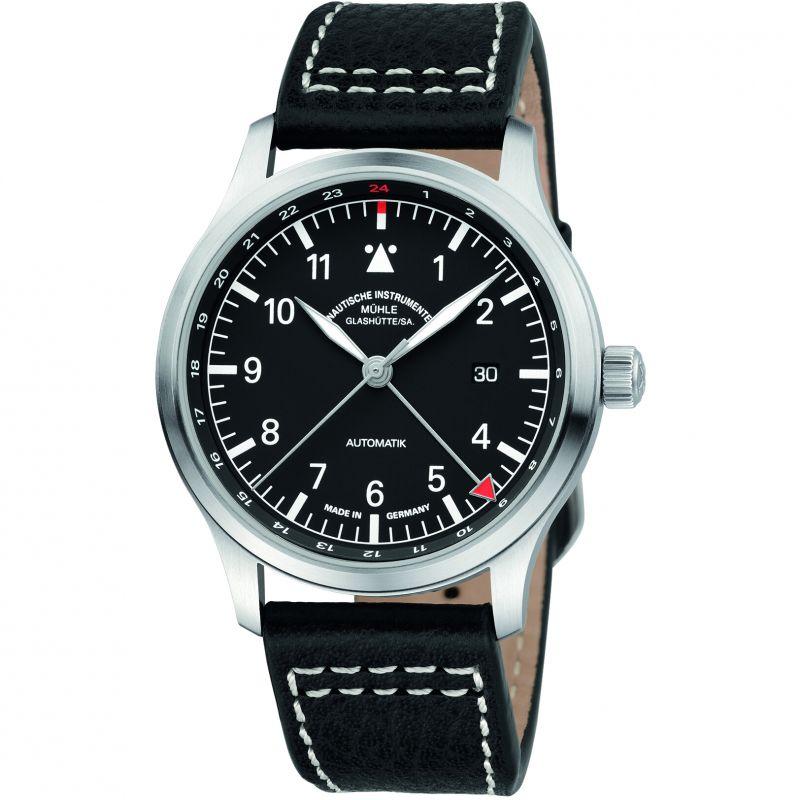 Mens Muhle Glashutte Terrasport IV GMT Automatic Watch