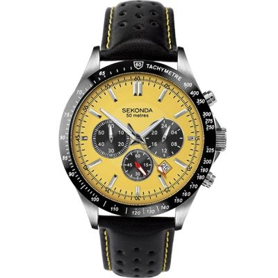 Mens Sekonda Chronograph Watch 1395