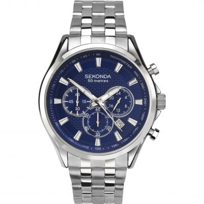 Mens Sekonda Chronograph Watch 1393
