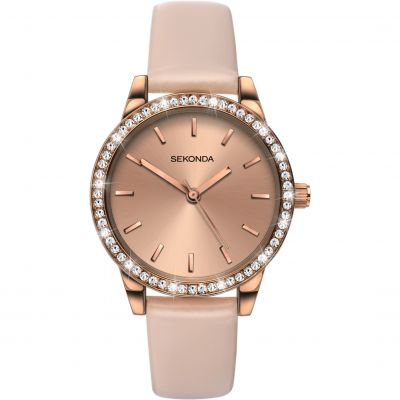 Sekonda Editions Damenuhr in Pink 2452