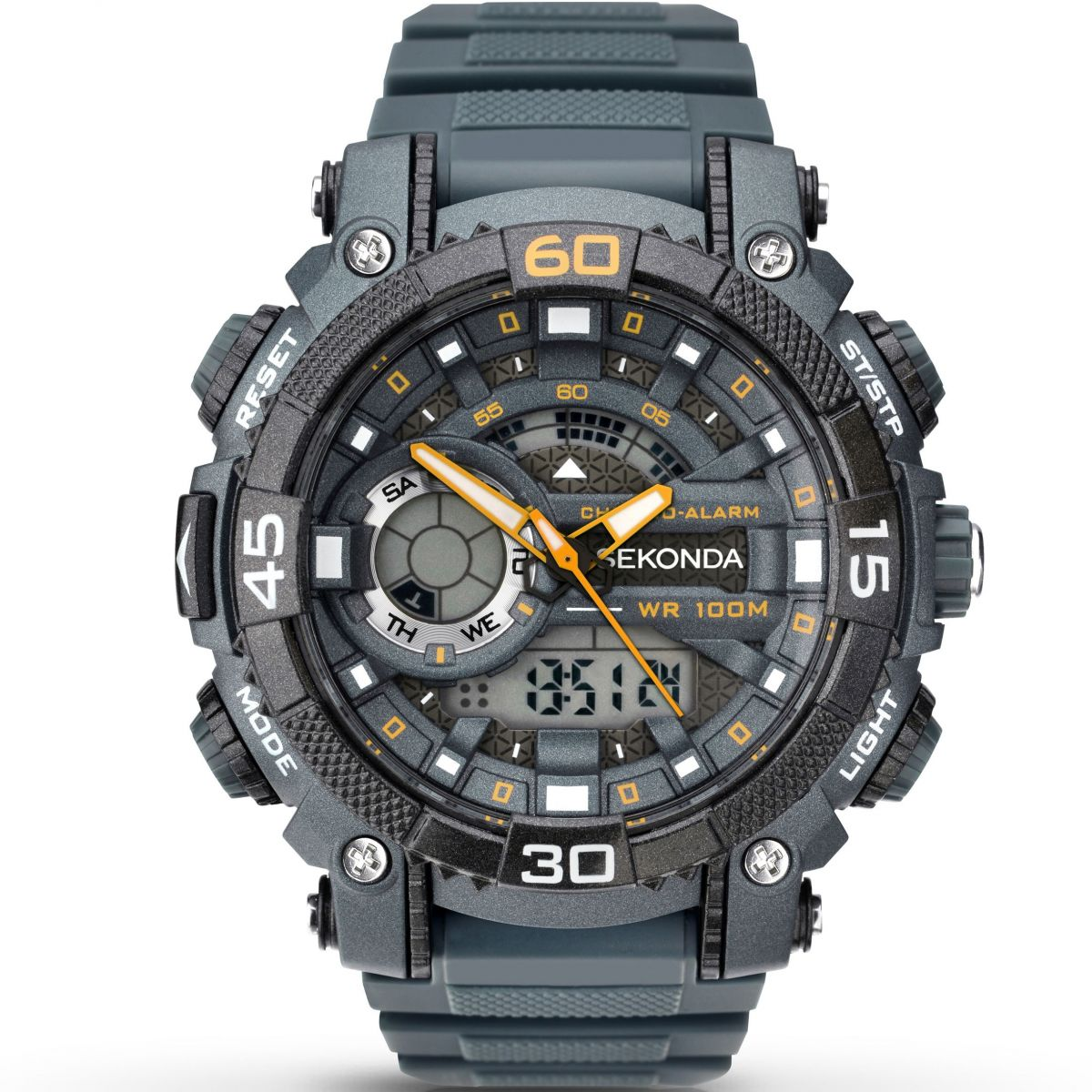 4d2bf9f40501 Sekonda Mens Dark Grey Strap Digital Watch 1036 Gents Sekonda Alarm Chronograph  Watch 1349 Watchshop Sekonda Nightfall Mens Chronograph Watch 1051 Sekonda  ...