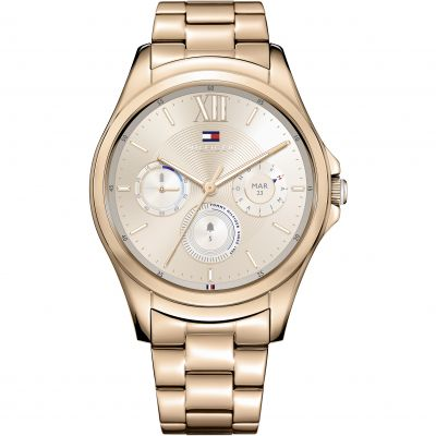 Tommy Hilfiger TH 24-7 Bluetooth Android Wear 2.0 Damklocka Rosa 1781832