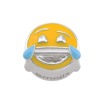 Damen Persona Tears of Joy Emoji Bead Charm Sterling-Silber H14976P1