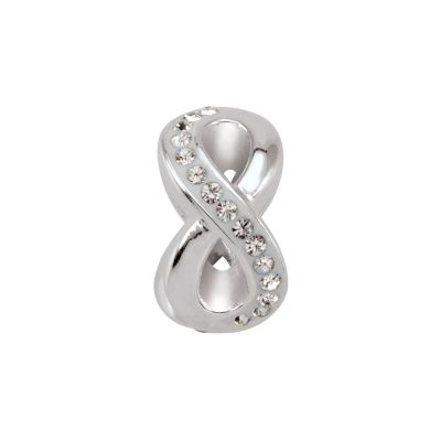 Ladies Persona Sterling Silver Endless Love Bead Charm H13734P2