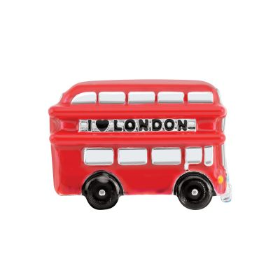 Ladies Persona Sterling Silver London Bus Bead Charm H14885P1