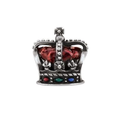 Ladies Persona Sterling Silver Crown Bead Charm H14888P1