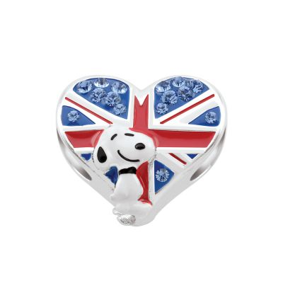 Bijoux Femme Persona Peanuts Union Jack Snoopy Bead Charm H14901P2