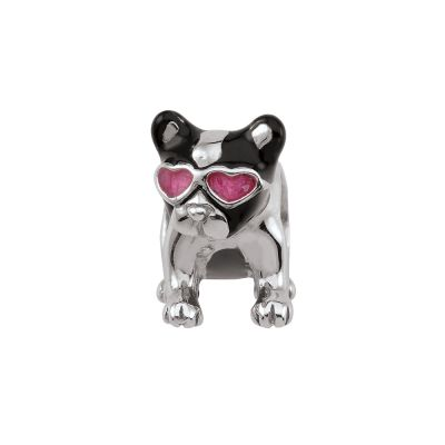 Bijoux Femme Persona Frenchie Kiss Bead Charm H14130P1