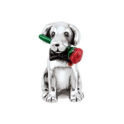 Ladies Persona Sterling Silver Pawsitively Love Bead Charm H14392P1