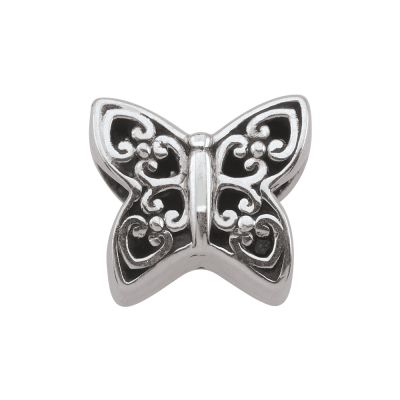 Ladies Persona Sterling Silver Beautiful Butterfly Bead Charm H12174P1
