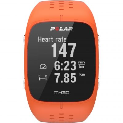 Polar M430 Bluetooth Wrist HR Smart Activity Tracker Unisexkronograf Orange 90064410
