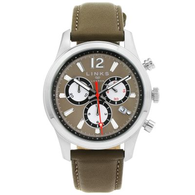 Mens Links Of London Greenwich Noon Chronograph Watch 6020.1213