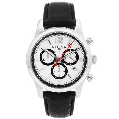 Mens Links Of London Greenwich Noon Chronograph Watch 6020.1214