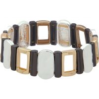 Ladies Nine West Multi colour gold Stretch Bracelet 60467988-Z01