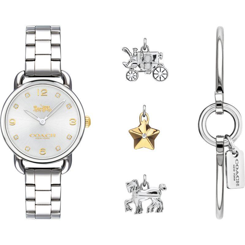 Ladies Coach Delancey Gift Set Watch